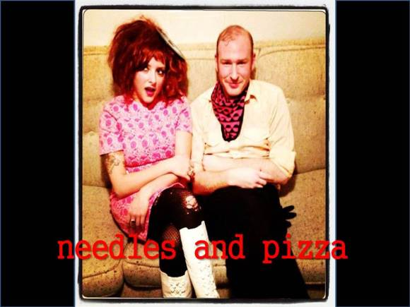 needles and pizza